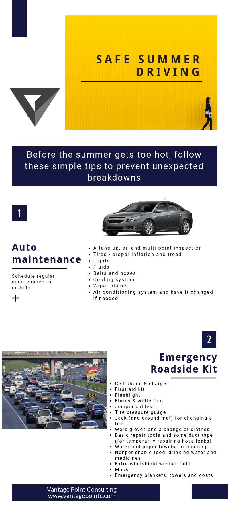 Safe Summer Driving