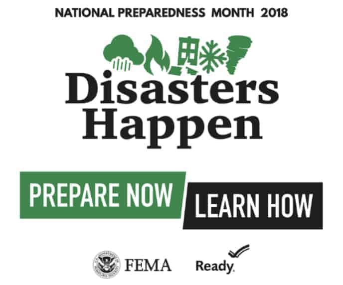 FEMA Disaster Preparedness Month