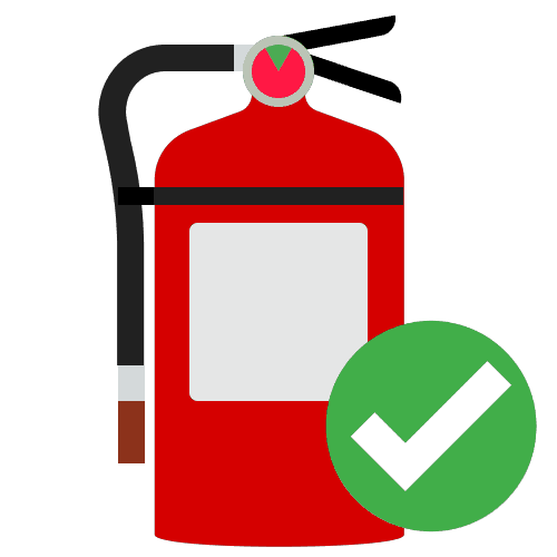 VPC Safety Check Fire Extinguisher