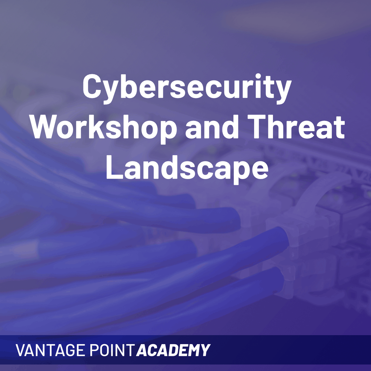 Cybersecurity Workshop and Threat Landscape (Q1 2021)